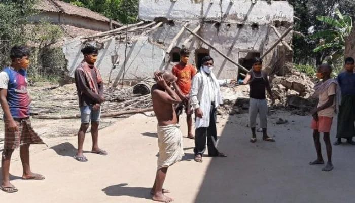 Photo of जिले की 81 ग्राम पंचायतों में मास्क एवं साबुन का हुआ वितरण