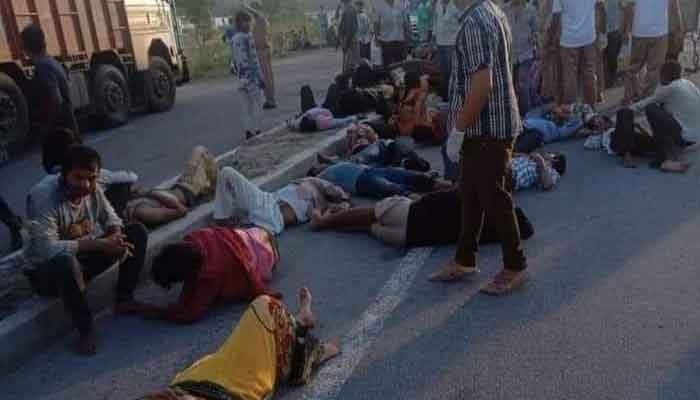 Photo of 24 मजदूरों की मौत, चाय पीने न रुकते तो शायद बच जाते