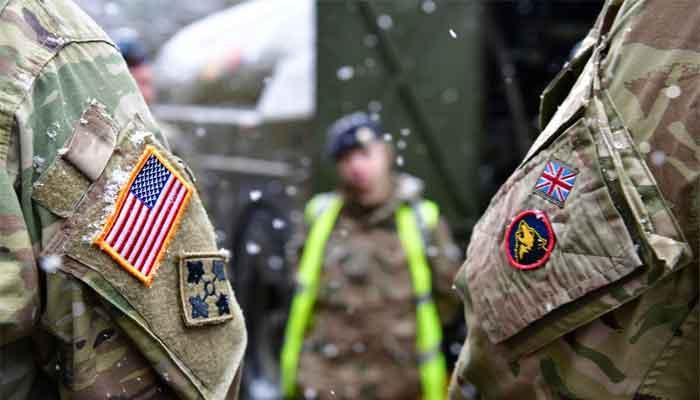 America-Britain-army