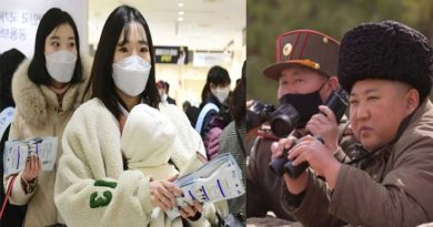 Mask gives the wearers North Korean dictators