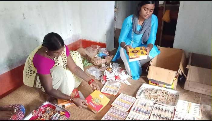 rakhi-making