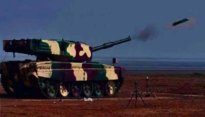 DRDO successfully tests laser guided anti-tank missile
