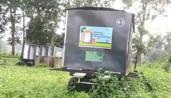 Photo of लाखों के चलित शौचालय अबूझमाड़ में हुआ कबाड़