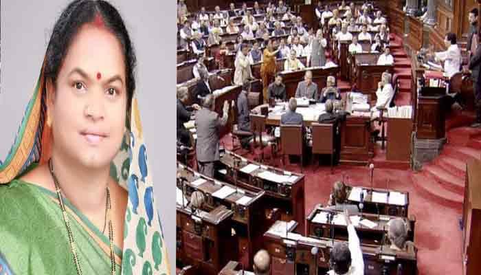Phoolodevi Netam raised demand in Rajya Sabha regarding Jagdalpur-Dhamtari road