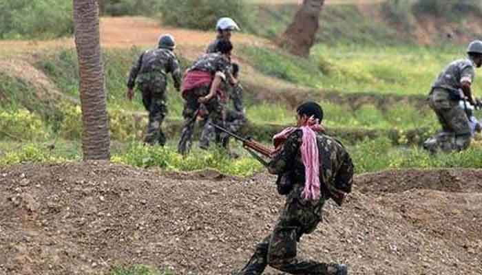Raipur-BIG-Breaking-Encounter-with-Naxalites-in-Kanker