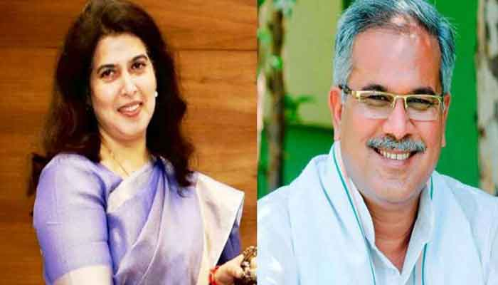 Saroj Pandey said on the statement of CM Bhupesh Baghel who is curt it is good.