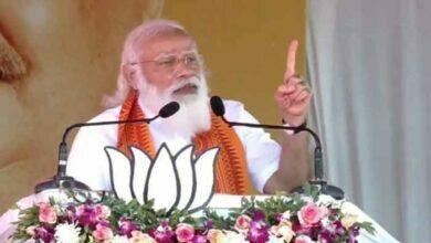 Photo of प्रधानमंत्री नरेंद्र मोदी- कांग्रेस की बांटो, झूठ बोलो और राज करो की नीति है