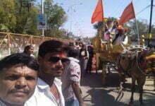 Photo of संत शिरोमणि रविदास जयंती पर नगर में निकला गया जुलूस