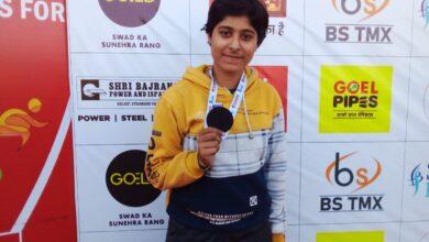 Photo of गंजबासौदा: शहर की बेटी तनू शर्मा ने  फिर किया शहर का नाम रोशन, जूनियर एथलीट प्रतियोगिता में जीता ब्रांज मेडल
