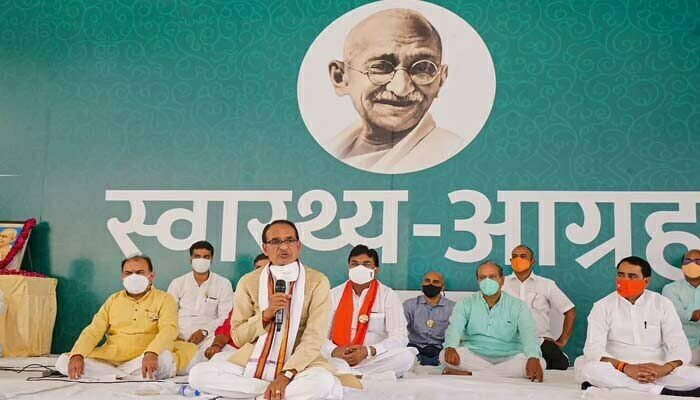 CM Shivraj- If needed, Remedesvir will deliver in districts by injection helicopter