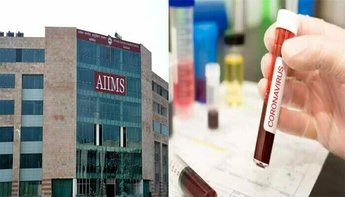 Corona Positive becomes 102 doctors of AIIMS, stir in capital