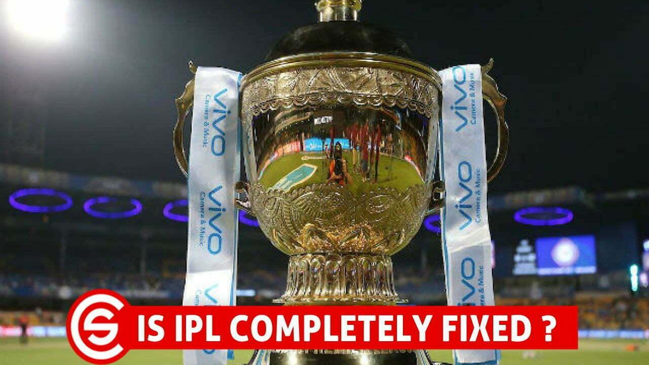 IPL IS FIXED