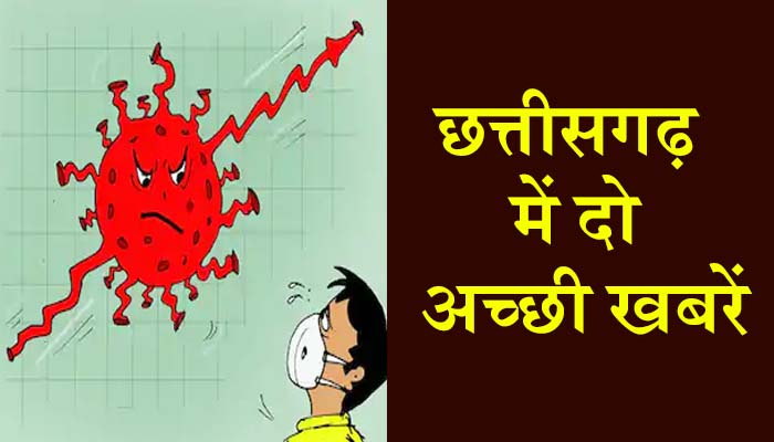 Two good news related to Corona in Chhattisgarh